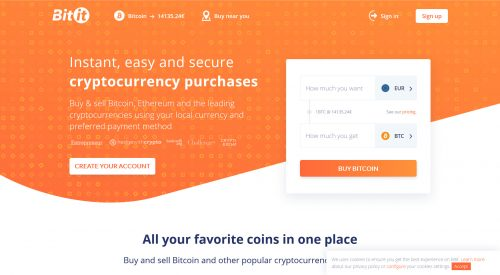 Bitit – recommended Coinbase alternative