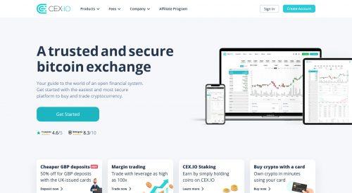 Cex.io – No.1 alternative to Coinbase