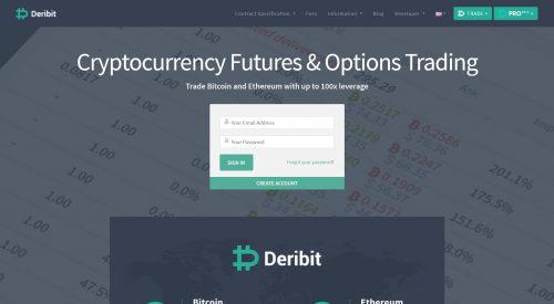 bitcoin futures trading platform