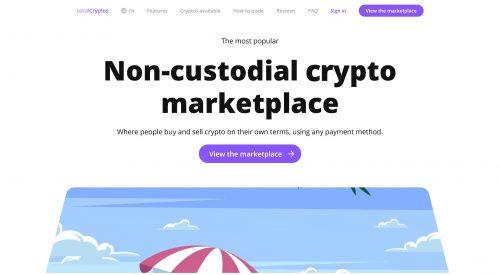 LocalCryptos – another Coinbase alternative